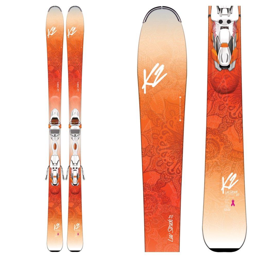 k2ラヴStruck 80 Womens Skis withマーカーer3 10 TCXバインディング2017 B01HSFEP6Y   170
