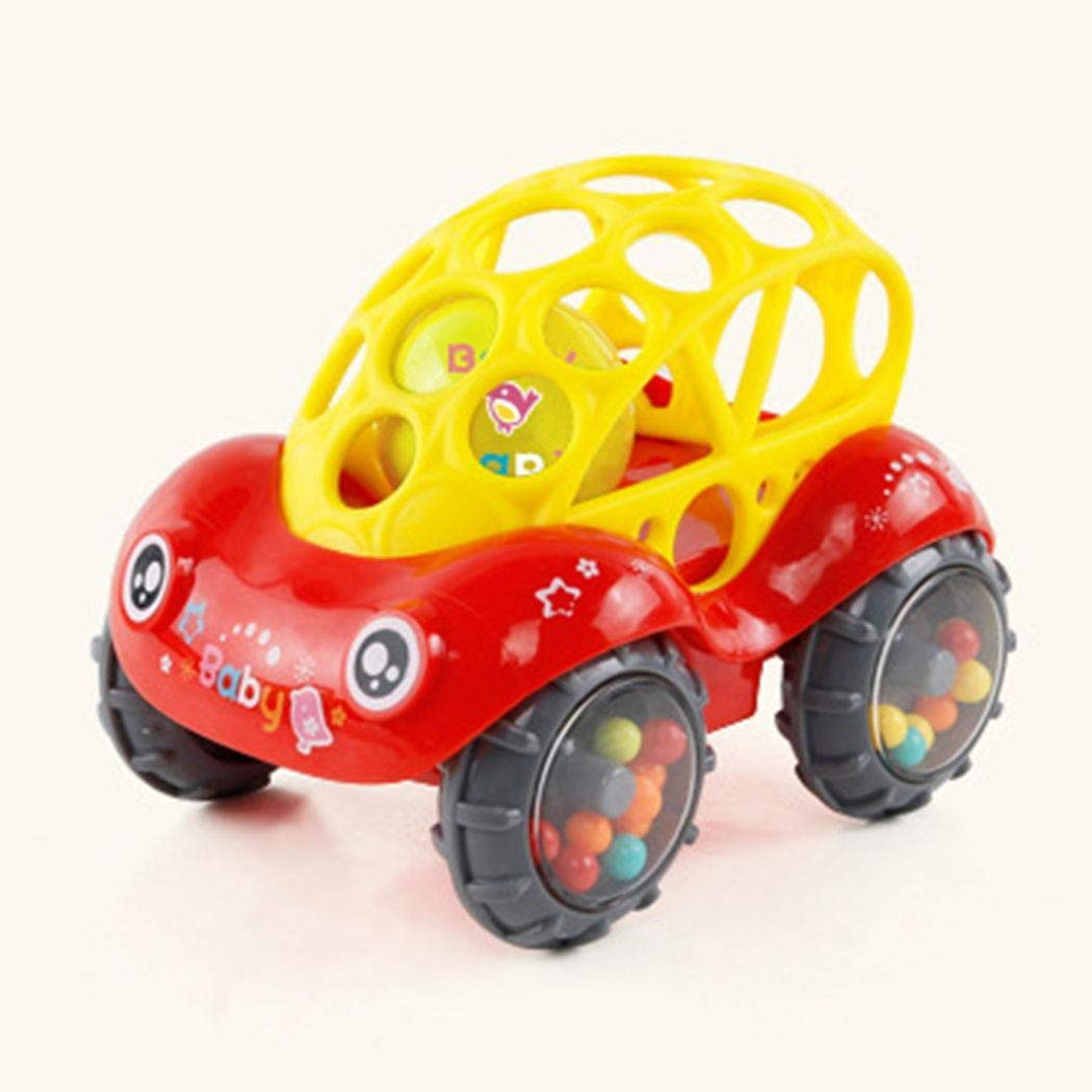 Murieo Baby Soft Car Shaking Glocke Rasseln Spielzeug Kinder Spaß Spielzeug Glockenball (Grün)