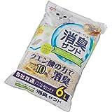 アイリスプラザ システムトイレ用 におわない消臭サンド クエン酸入り ホワイトソープの香り 猫用 6L