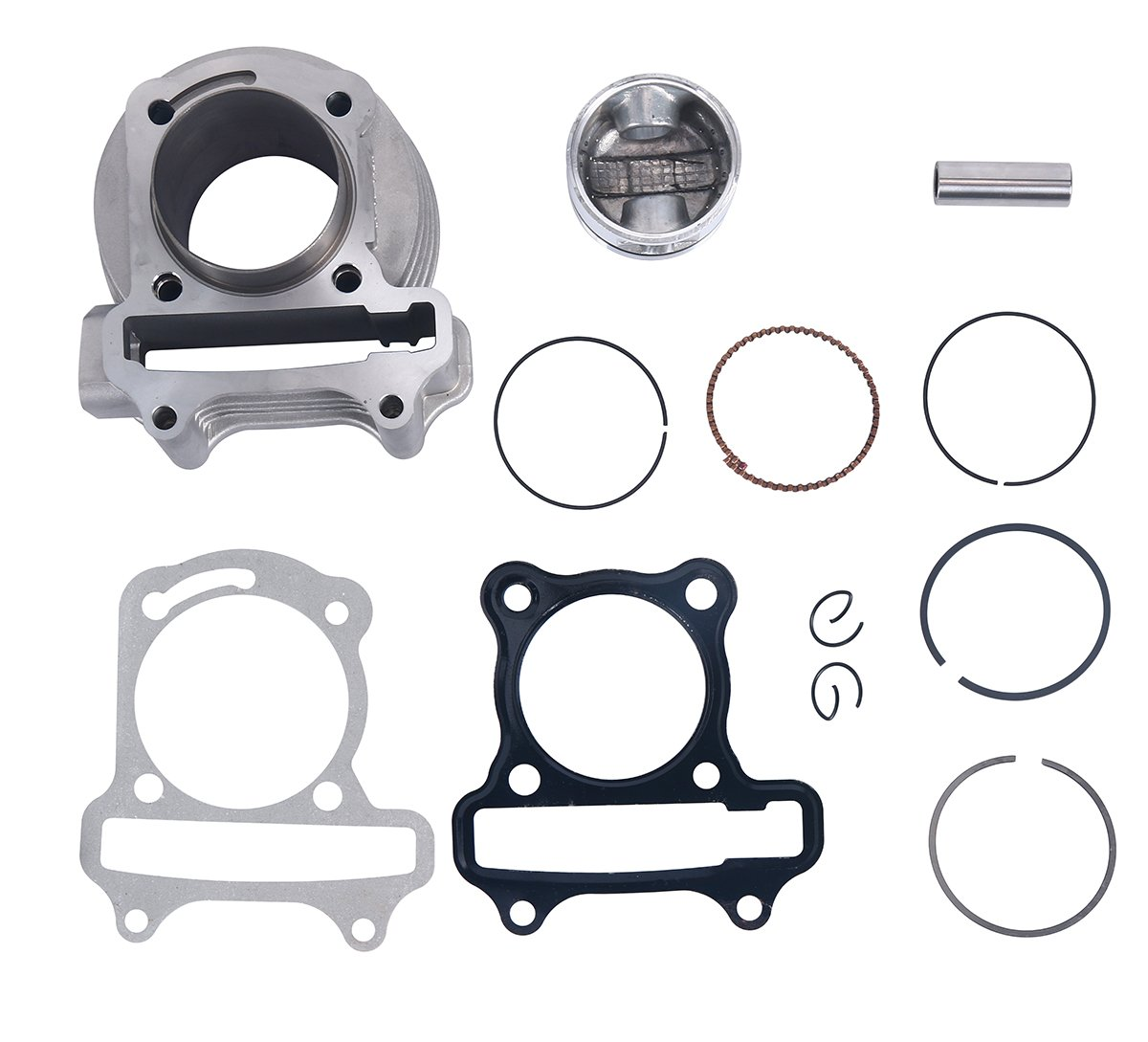 8milelake Big Bore Kit GY6 ATV Scooter Moped Engine Motor 50cc to 100cc 139QMA 139QMB Cylinder Piston CK14