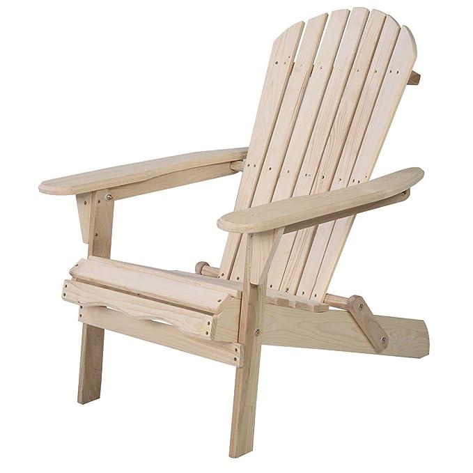 Amazon.com: Hulaloveshop - Silla plegable de madera de abeto ...