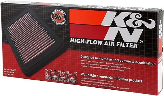 remplacement haut débit de filtration KN Filtre à air 33-2425