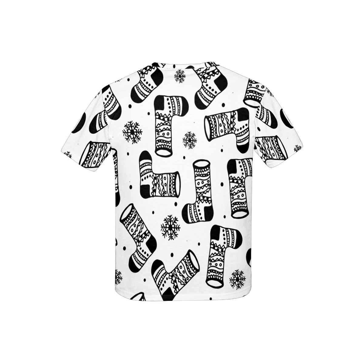 XS-XL INTERESTPRINT Kids T-Shirt Christmas Boots
