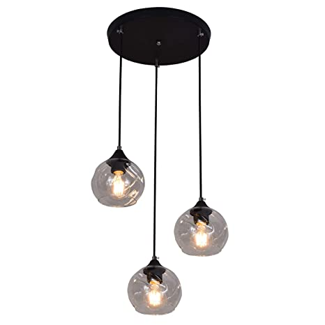 Amazon.com: YHTlaeh - Lámpara de techo industrial de metal ...