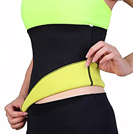 945e7eaf07a11 Amazon.com   Hioffer Neoprene Hot Thermo Sweat shapers Slimming Belt ...