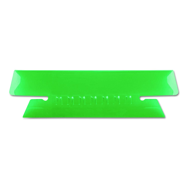 Green Tab//White Insert 1//3 Tab 43-1//2-GRE 3.5 Inches 25 per Pack Pendaflex Hanging File Folder Tabs