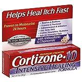 Cortizone-10 Intensive Healing Formula Anti-Itch Creme Maximum Strength, 1 oz by Cortizone-10 (Pack of 3)