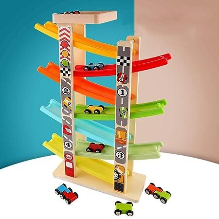 PENGJIE-Kids Toys Coche de Juguete for niños Coche de riel ...