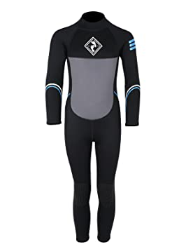 2ff01de045a5 Two Bare Feet GLIDER Kids Childrens Full Length Wetsuit Boys and Girls  (Blue, Age