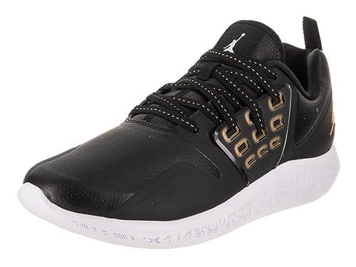 finest selection 6e1e0 2661b Jordan Grind, Scarpe da Fitness Uomo, Multicolore (Black/Metallic Gold-031