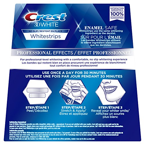 Crest 3d White Whitestrips Professional Effects Treatments, 20 Count by Crest (Image #2)