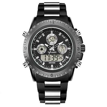 LE Relojes Digital/para Hombre, Deportivo, Táctico Luminoso Multifuncional para Exteriores electrónico de Alpinismo: Amazon.es: Deportes y aire libre