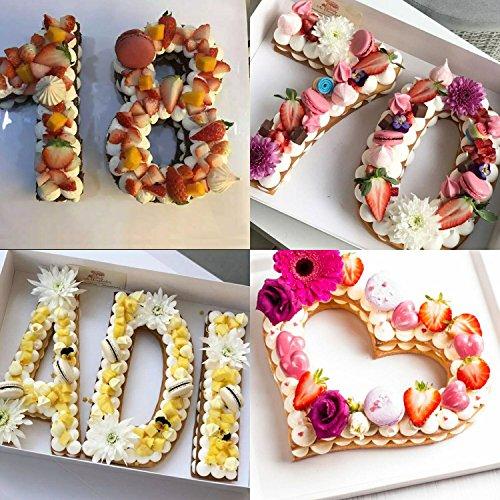 Stampo Per Torta Grande Con Numeri Da 0 A 9 Set Per Torte Per