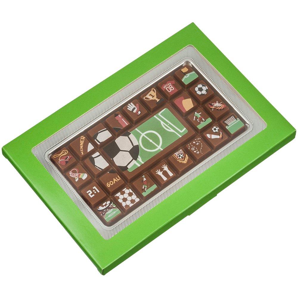 Chocolatinas con motivos futbolísticos - 70 g: Amazon.es: Alimentación y bebidas