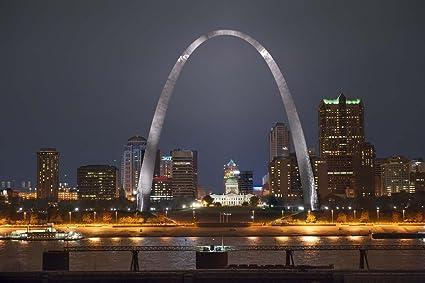 Amazon com: St Louis Missouri Gateway Arch Unframed Vinyl