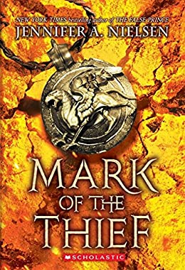 Mark of the Thief - Jennifer Nielsen - books similar to percy jacxkson
