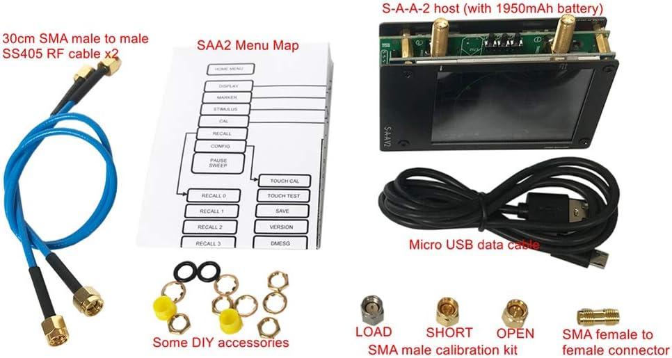 3G Vector Network Analyzer SAA-2 NanoVNA V2 Antena Analizador ...