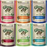 Feline Greenies Dental Cat Treats Salmon 2.5 oz 6 Pack