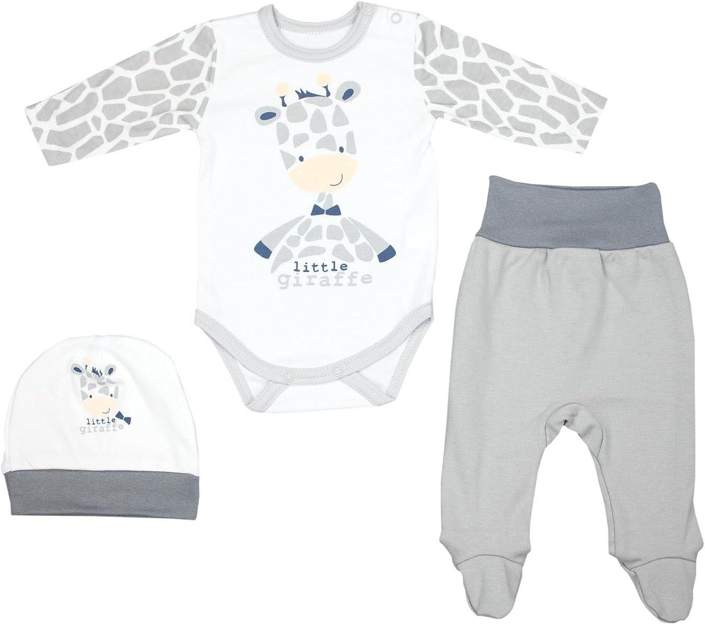 TupTam Conjunto de Ropa Bebés Body y Pantalones y Gorra