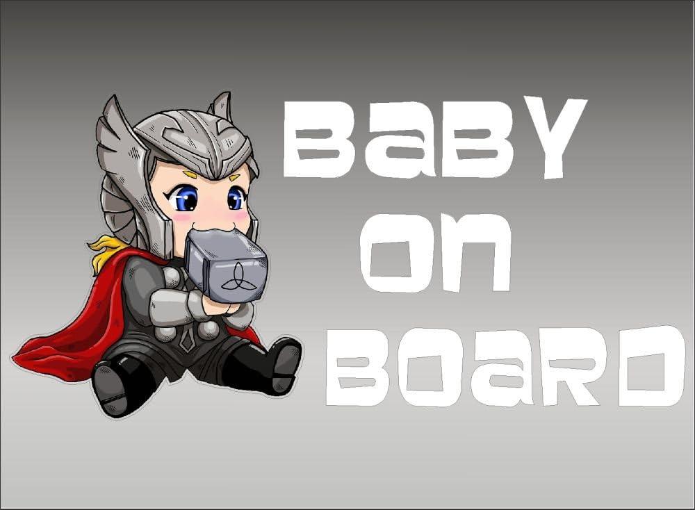 Amazon.com: Thor Baby on Board / Marvel Comics Avengers Family