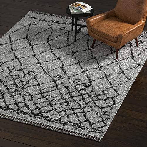 Amazon Brand Rivet Contemporary Polypropylene Area Rug