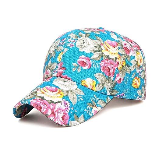 NgMik Gorra de béisbol Sombrero Bonito para Mujer Estampado de ...