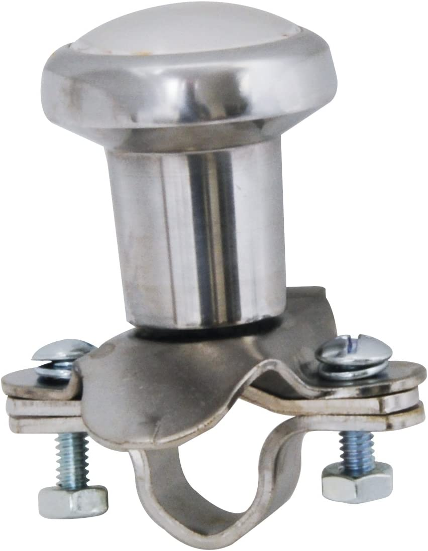 RoadPro Chrome Steering Wheel Spinner Knob