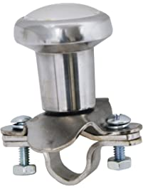 RoadPro RP-70100 Chrome Steering Wheel Spinner Knob