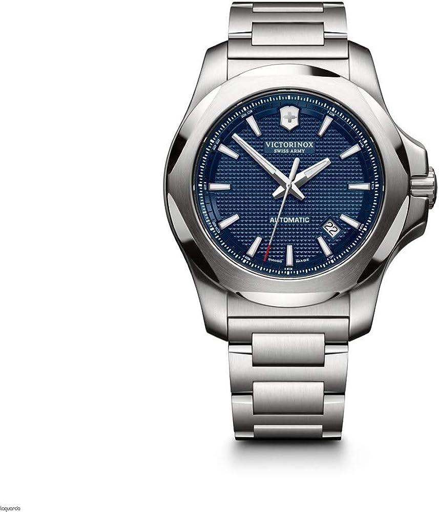 Victorinox Hombre I.N.O.X Mechanical - Reloj Suizo de Acero Inoxidable automático 241837