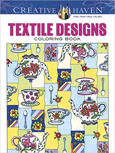 Amazon Creative Haven Textile Designs Coloring Book Adult 9780486803081 Marjorie Sarnat Books