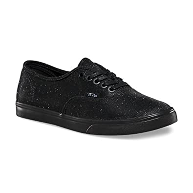 vans glitter textile authentic lo pro
