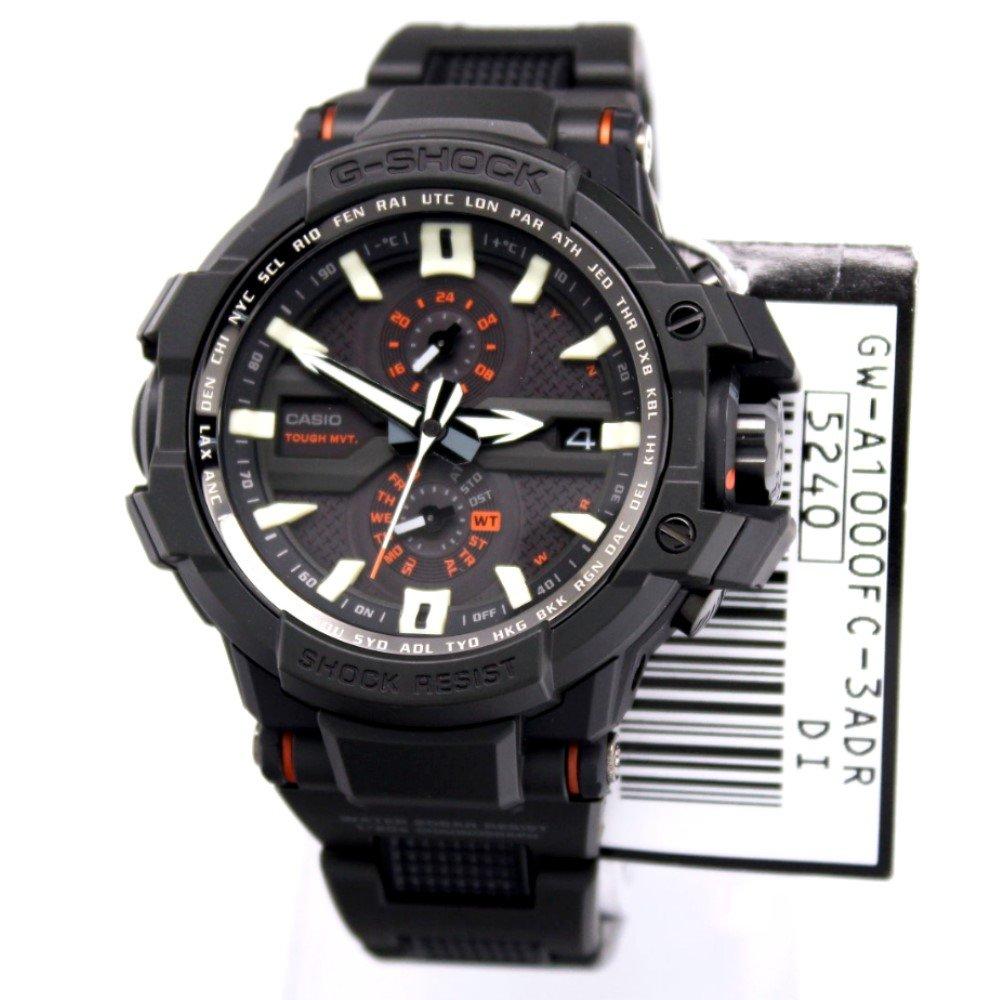 Casio G-Shock GWA1000FC-3A Gravity Defier Fine Resin Bracelet Watch