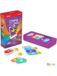 Osmo - Coding Jam - Ages 5-12 - Music Creation, Coding & Problem Solving - For iPad and Fire Tablet (Osmo Base Required)