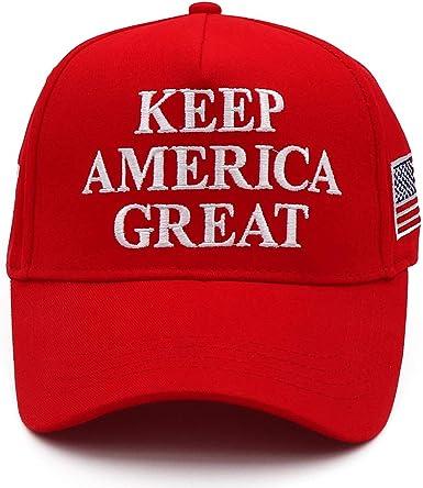 CHUNG Keep America Great Hat 2020 USA Flag Embroidery KAG MAGA Cap Red
