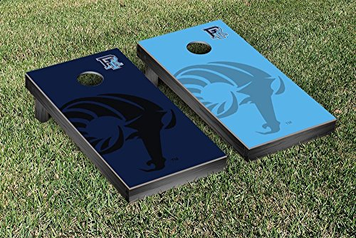 Rhode Island Rams Regulation Cornhole Game Set Watermark Version by Victory Tailgate