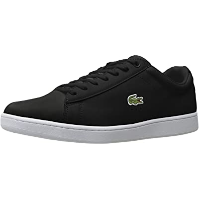 Lacoste Men's Carnaby Evo BL 1, Black, 8.5 M US | Fashion Sneakers
