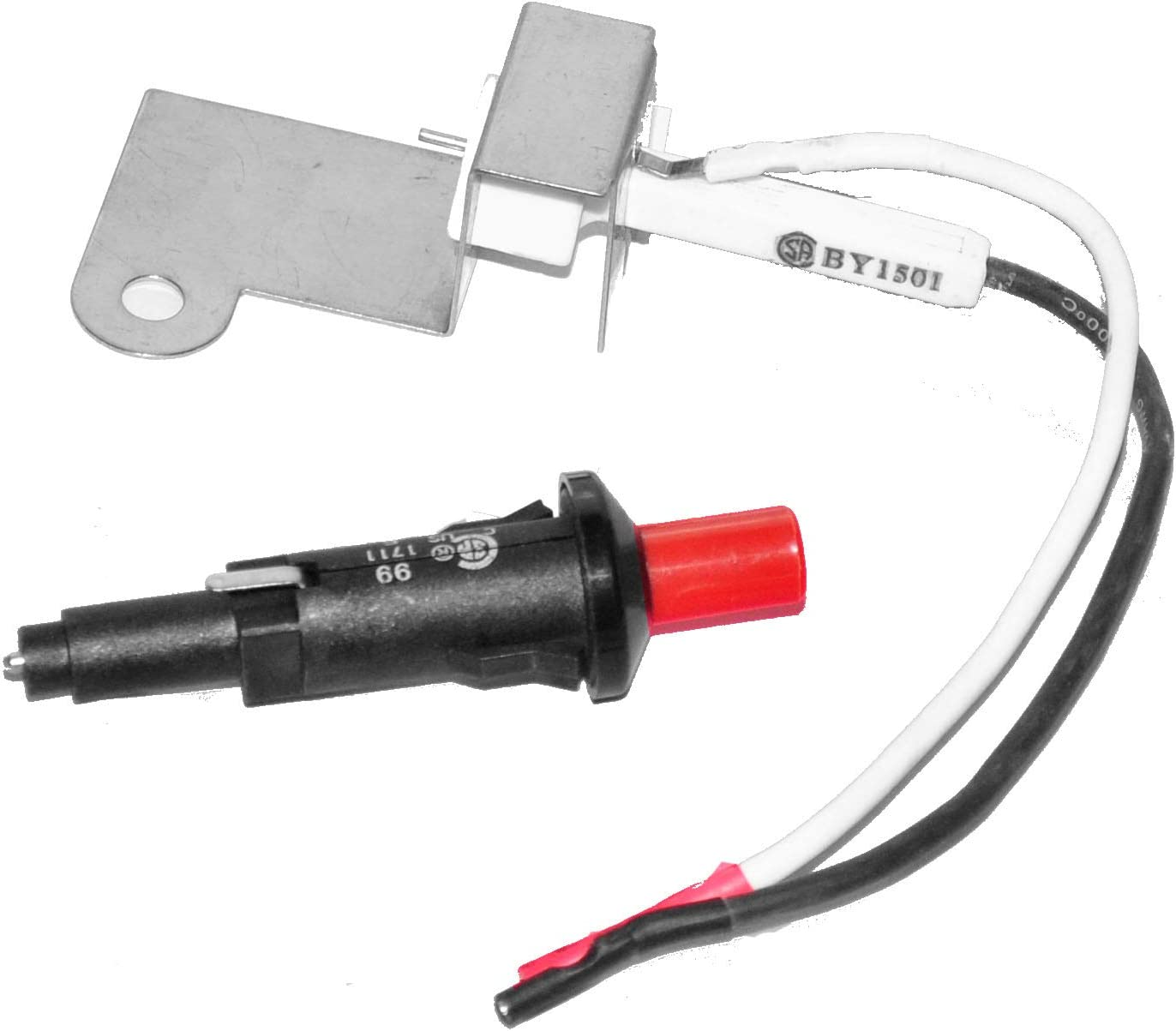 Weber Push Button Gas Grill Replacement Ignitor Spark Generator with Nut New
