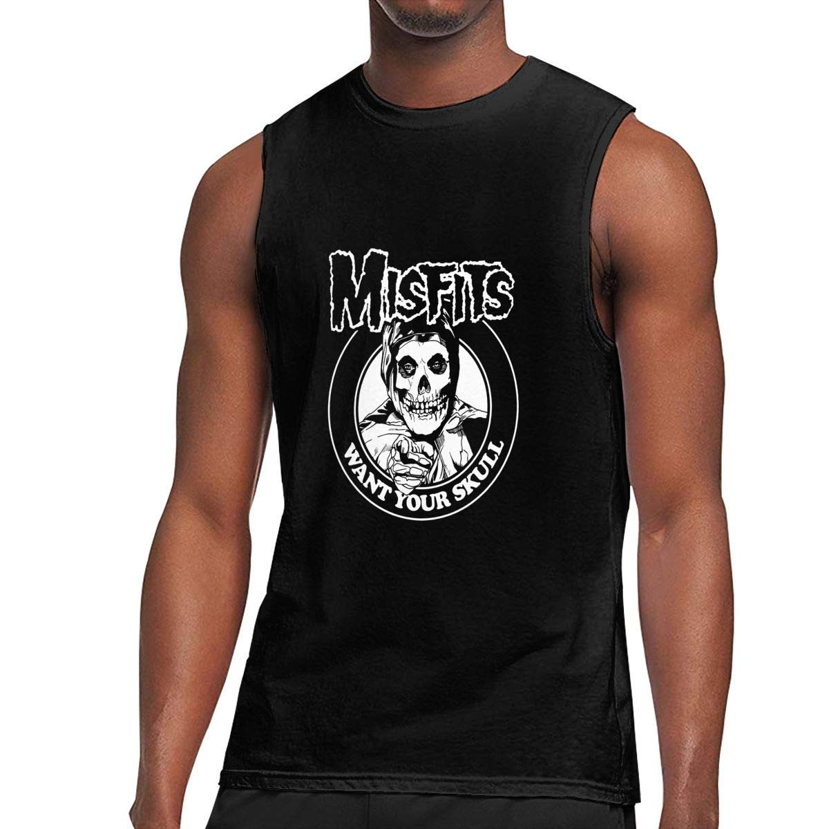 Sleeveless T Shirt Miss Classic Workout Tank Tops Gym Bodybuilding Tshirts Black