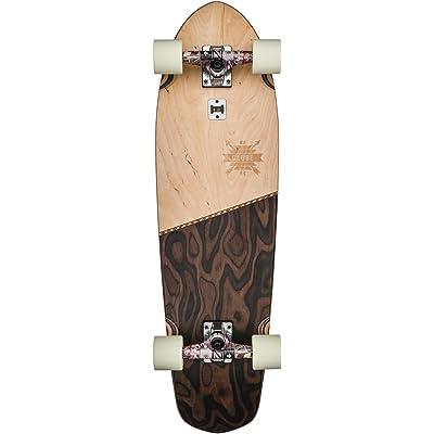 "GLOBE Skateboards Big Blazer Cruiser Complete Skateboard, Natural/Burle, 32"" : Sports & Outdoors"