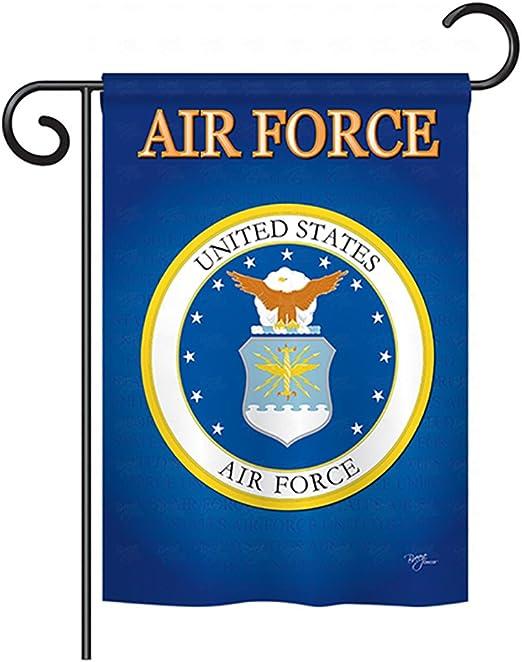 Amazon.com: Fuerza Aérea de los Estados Unidos Bandera de ...