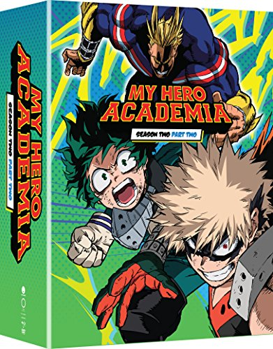 - My Hero Academia: Season Two, Part Two (Limited Edition Blu-ray/DVD Combo)