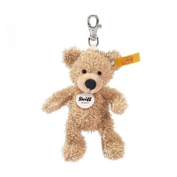 Amazon.com: Steiff Llavero Fynn oso de peluche beige: Toys ...