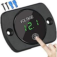 SenRan Universal Digital Display Voltmeter. Waterproof Voltage Meter. Green LED .car Voltmeter.led Voltmeter.12v…