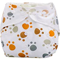 Lookatool Newborn Baby Cloth Diaper Cover Adjustable Reusable Washable Nappy