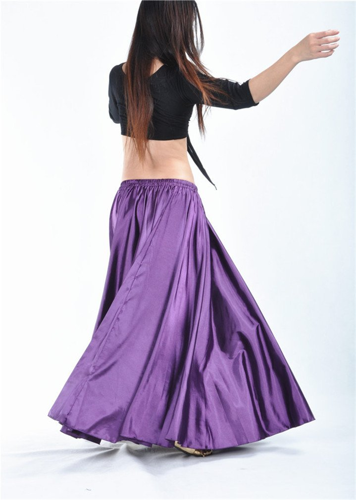 Dreamspell Beautiful Purple Long Skirts best gift dance group stage by Dreamspell