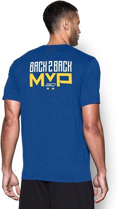 22ad8585b Amazon.com: Under Armour Men's SC30 B2B MVP T-Shirt Royal Size X ...