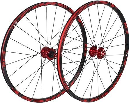CHP 26/27,5 Pulgadas Bicicleta de montaña Ruedas, MTB Rueda Juego ...