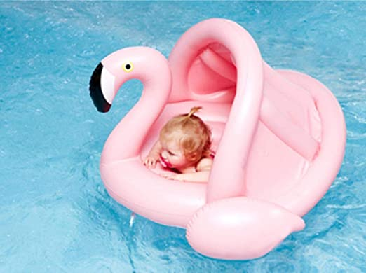 OGAWOO Inflable Flamingo Pool Baby Float Inflable Pool Toys Baby ...