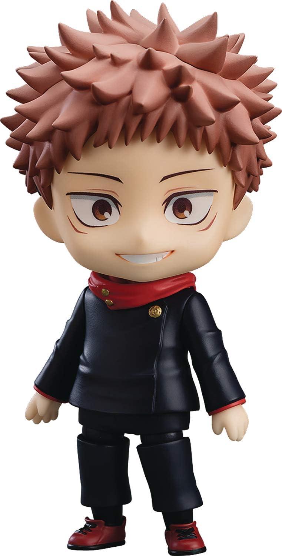 Amazon Com Good Smile Jujutsu Kaisen Yuji Itadori Nendoroid Action Figure Multicolor Toys Games