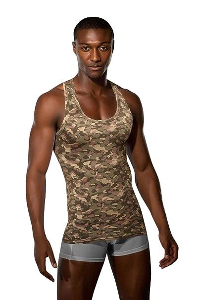 DOREANSE Camiseta Interior - Animal Print - Para Hombre: Amazon.es: Ropa y accesorios